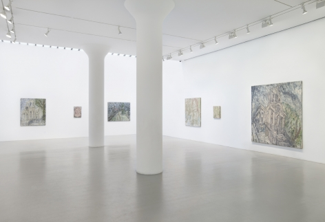 LEON KOSSOFF Installation view at Mitchell-Innes & Nash, NY, 2011