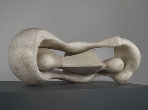 HENRY MOORE Reclining Connected Forms