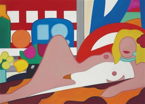 TOM WESSELMANN Sunset Nude with Wesselmann Still Life
