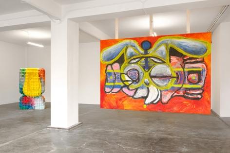 GERASIMOS FLORATOS Installation view of Soft Bone Journey