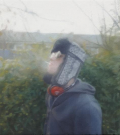 PAUL WINSTANLEY Man Smoking a Cigarette