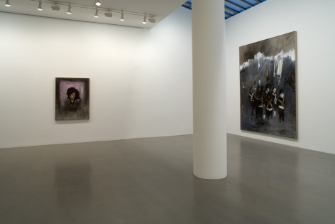 AXEL GEIS Installation view at Mitchell-Innes & Nash, NY, 2008
