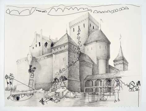 KARL HAENDEL My Daughter Asked Me to Draw Her a Castle and then Wanted to Help