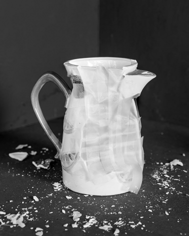 James Henkel  Repaired Pitcher, 2017  Archival Pigment Print  20h x 16w in   Edition of 5   30h x 24w in   Edition of 3, photography, contemporary art