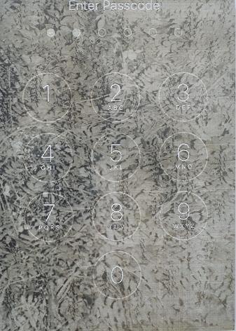 Bryan Graf  Jungle Code (self portrait), 2019  Chromogenic Print  24 1/2h x 17 1/2w in 62.23h x 44.45w cm  Edition of 5  BG030