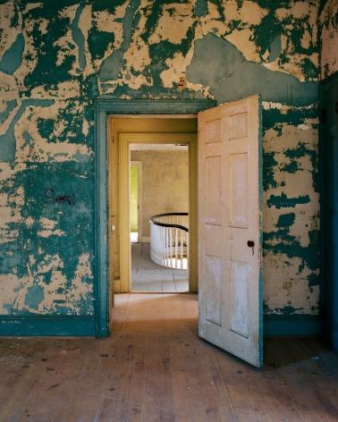 ema Stauffer  Rear Bedroom, Oliver Bronson House, Hudson, New York, 2016, 2016  Archival Pigment Print 24h x 30w in, Edition of 8  30h x 36w, Edition of 8  42h x 50.5w, Edition of 3   TS_004