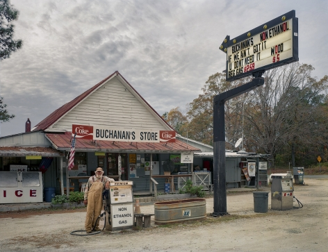 Andrew Moore, Buchanan's Store, Manson, North Carolina, 2015, Archival pigment print