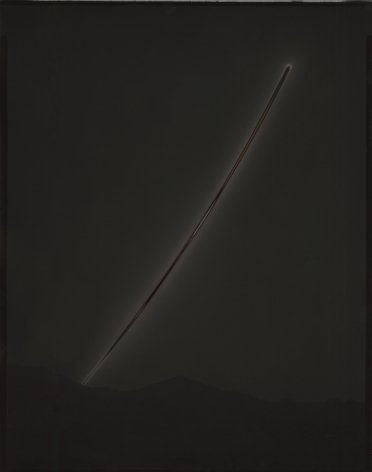 Chris McCaw  Sunburned GSP#883 (Mojave), 2015  Gelatin Silver Paper Negative  14h x 11w in, Unique, Photography, Future Past