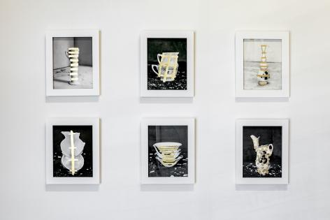 Installation image, James Henkel: Table Arrangements, Asheville, NC