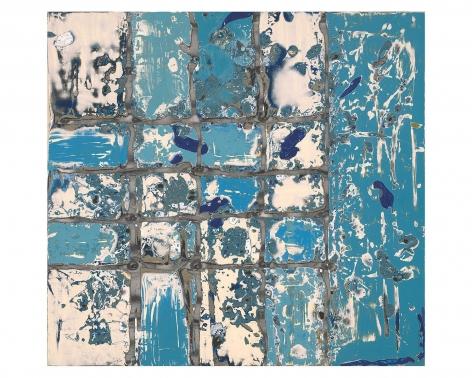 Randy Shull  Bacalar, 2019  inkjet, acrylic on panel  22h x 24w in