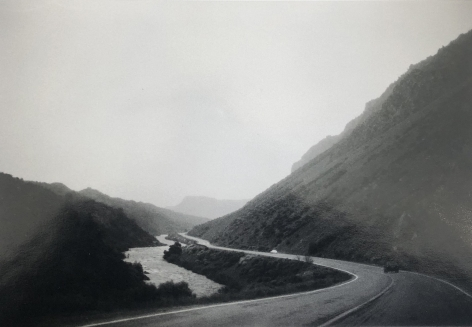 Bernard Plossu (1945-)  The Rio Grande near Taos, 1979  Gelatin silver print  10 x 14 inches (paper), 8 x 11.75 inches (image), Vintage photography