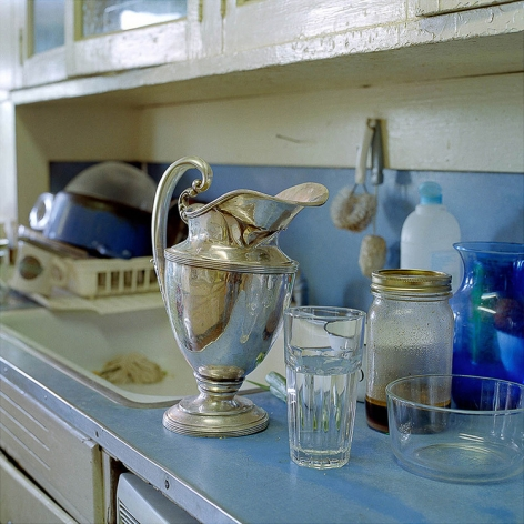 "Ken Abbott Silver Pitcher from the series ""Useful Work"", 2006 Archival Pigment Print 20h x 20w in, Edition of 5, Photography"