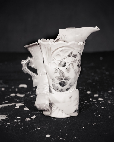 James Henkel  Repaired Pitcher with Strawberries, 2017  Archival Pigment Print  20 x 16 inches Edition of 5  30 x 24 inches  Edition of 3, contemporary art, photography