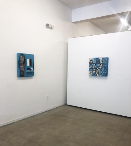 Bacalar, inkjet and acrylic on panel, Rigid Ooze, 2019, Inkjet and acrylic on panel