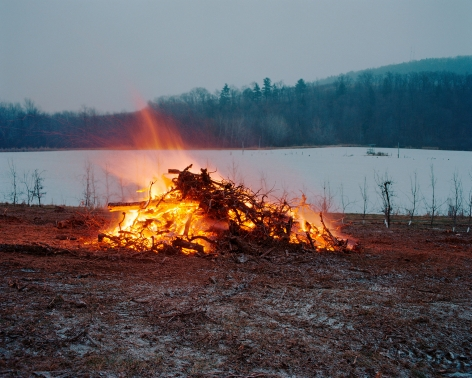 Tema Stauffer  Orchard Burning, Livingston, New York, 2016  Archival Pigment Print  24h x 30w in, Edition of 8  30h x 36w, Edition of 8  42h x 50.5w, Edition of 3   TS_030