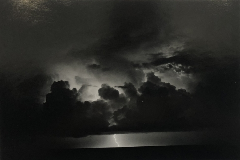 Bernard Plossu (1945-)  The Storm of Ulysses, 1988  Gelatin silver print  11 x 14 inches (paper) 8 x 11 inches (image), Vintage Photography