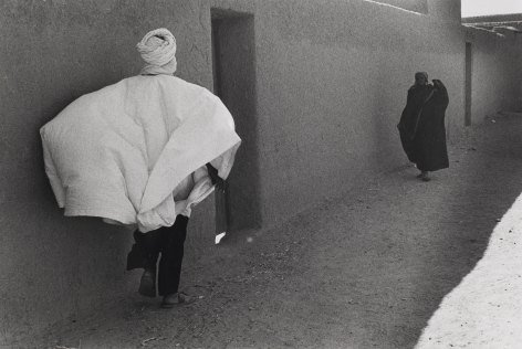 Bernard Plossu (1945-)  Acades, Niger, 1975  Gelatin silver print  12 x 16 inches (paper) 7.75 x 11.25 inches (images), Black and White Photography
