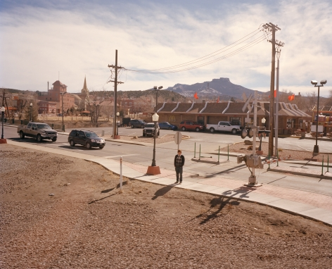 McNair Evans, Southwest Chief 10009, from the series In Search of Great Men, Archival Pigment Print, 20h x 25w in and 32h x 40w in, Editions of 5. Photography