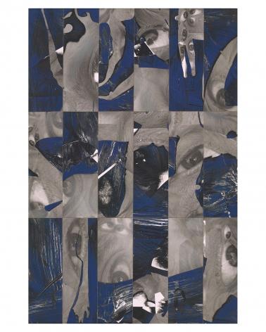 Randy Shull  Eye Storm, 2019  inkjet, acrylic on pannel  32h x 22w in