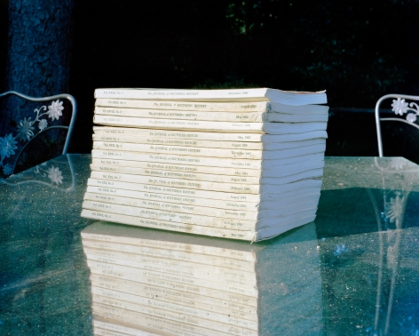 McNair Evans, Journals, 2010, Archival Pigment Print, 32h x 40w in, Edition of 5, Photography