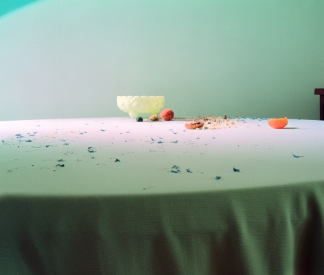 Laura Letinsky, Untitled #80, 2003, from the series Hardly More Than Ever, archival pigment print, 22.23 x 33.24 inches, edition of 15
