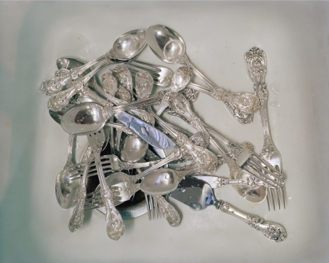 McNair Evans, Wedding Silver, 2010, Archival Pigment Print, 32h x 40w in, Edition of 5, Photography