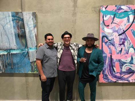Nano Rubio, Carlos Beltran Arechiga and Sergio Witron
