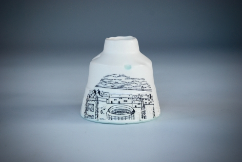 raewyn harrison ceramics bottle stoke old london art mudlarking