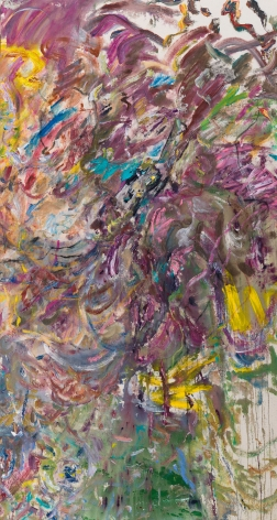 Larry Poons American, born 1937    Came and Went, 2017