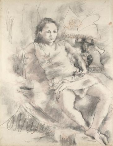 Jules Pascin, Simone,1928