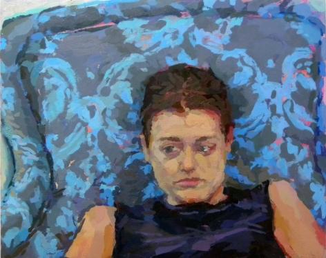 Rachel Rickert, Daze, 2019-2020   Oil on panel  8 x 10 inches