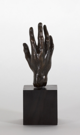 Auguste Rodin, Main no 32, petit modèle Conceived 1880-1885 this cast 1959 Georges Rudier Bronze 3 1/8 x 1 1/2 x 1 1/2 inches