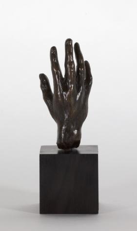 Auguste Rodin, Main no 32, petit modèle Conceived 1880-1885 this cast 1959 Georges Rudier Bronze 3 1/8 x 1 1/2 x 1 1/2 inches