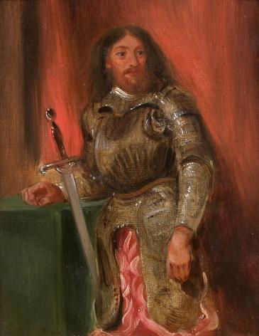 Eugène Delacroix, Vincentini in Armor, 1826