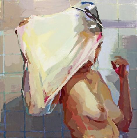 Rachel Rickert American, born 1990    Veil, 2017