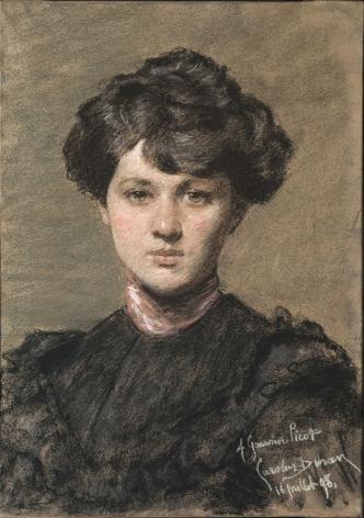 Carolus-Duran, Portrait of Genevieve Picot, 1898