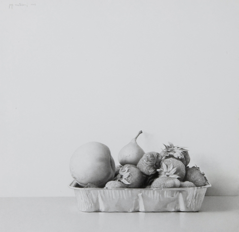 Josep Santilari Perarnau    Summer Fruit, 2007    Graphite pencil on Scholler cardboard 12 3/8 × 12 5/8 inches