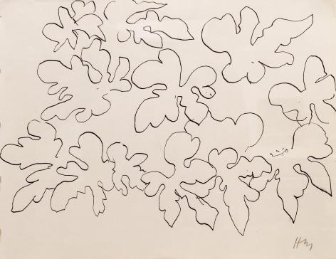 Henri Matisse Etude de feuilles, 1941