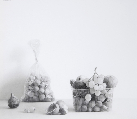 Pere Santilari Perarnau    Still Life XXVIII, 2011    Graphite pencil 12 3/8 × 12 5/8 inches