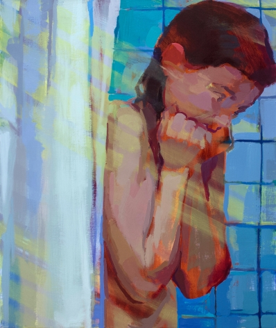 Rachel Rickert, Expulsion from Paradise, 2019   Oil on canvas 24 x 20 inches
