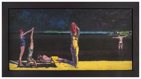 Graham Nickson    Georgica Bathers: Yellow and Black, 1993