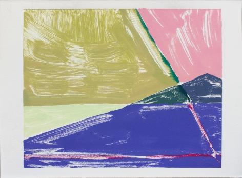Rachel Rickert, James Castle House Shadow I, 2019   Monotype 9 x 12 inches