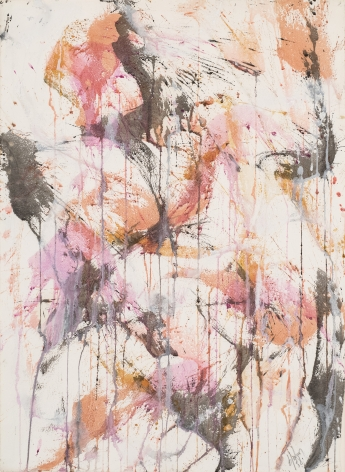 Norman Bluhm, American 1921-1999 Untitled, 1958 Watercolor on paper 22 1/2 x 31 inches