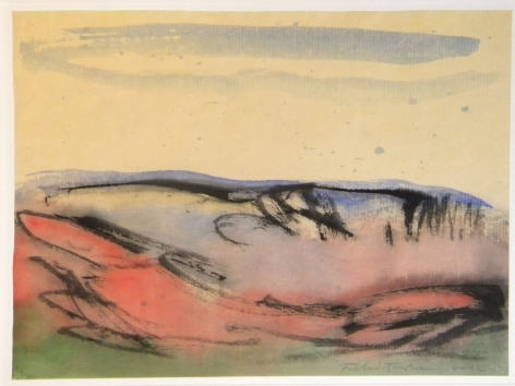 Fulvio Testa, Untitled 15, 2012    Watercolor on paper 12 3/4 x 14 5/8 inches