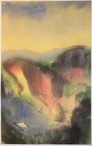 Fulvio Testa, Untitled 9, 2012    Watercolor on paper 15 x 11 7/8 inches