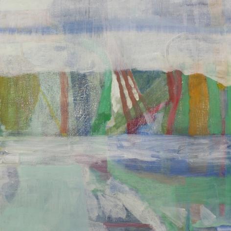 Julian Hatton American, b. 1956    Middle Mist, 2017