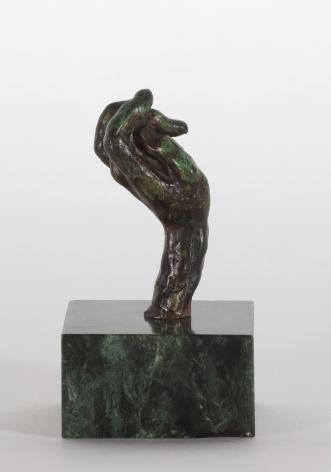 Auguste Rodin, Main no. 20, petit modèle Conceived 1890-1908, this cast 1945 Alexis Rudier Bronze 2 1/8 x 3/4 x 1 1/8 inches