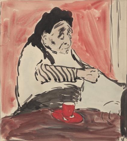 Edouard Vuillard The Artist's Grandmother, 10 rue Miromesnil, 1887-91