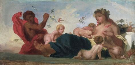 Eugène Delacroix, L'Agriculture, 1834