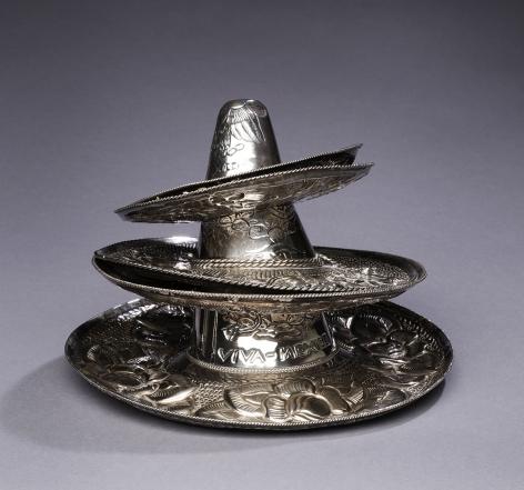 Silver Sombrero Dishes